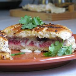 Recette sandwich Camembert