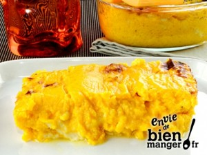 gratin courge